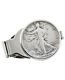Silver Walking Liberty Half Dollar Coin Money Clip