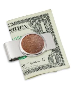Portugal Royal Seal Five Cent Euro Coin Money Clip