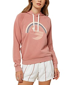 Juniors' Psychic Sun Cotton Fleece Hoodie