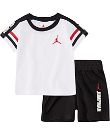 Baby Boys 2-Pc. Jumpman T-Shirt & Shorts Set