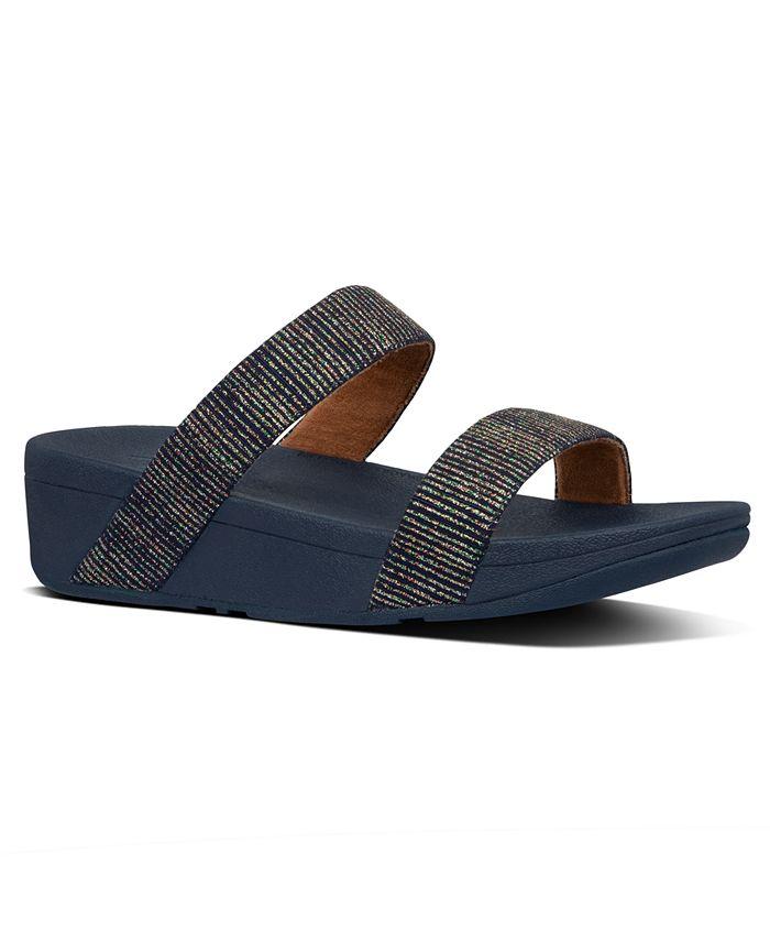 FitFlop - Lottie Glitter Stripe Sandals