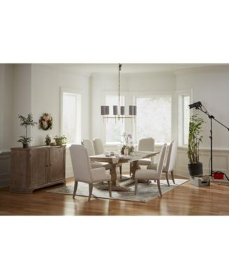 Rachael Ray Monteverdi Dining Furniture, 9-Pc. Set (Table & 8 Upholstered Side Chairs)