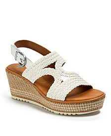 Elsa Posture Plus+ Platform Wedge Sandals