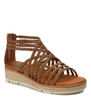 Bessica Posture Plus+ Gladiator Wedge Sandals Women's Shoes