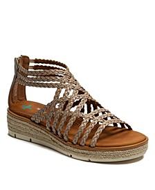 Bessica Posture Plus+ Gladiator Wedge Sandals
