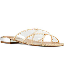 Nine West Ieni Women's Flat Slide Sandals