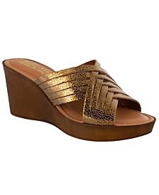 Cat-Italy Women's Wedge Sandals