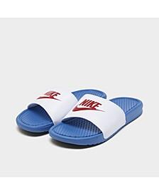 Men's Benassi JDI Slide Sandals from Finish Line