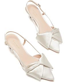 Cream Kitten Heels