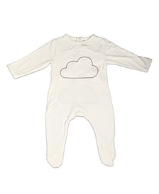 Baby Boys and Girls Bamboo Cloud Long Sleeve Back flap