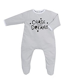 Baby Boys and Girls Bamboo Chase Your Dreams Back flap