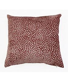 20x20 Evie Cut Velvet Pillow
