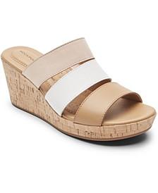 Women's Lyla Strappy Wedge Sandals