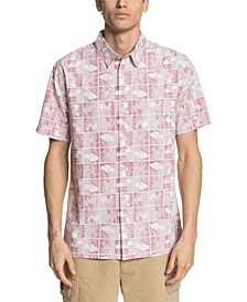 Quiksilver Men's Flower Block Shirt