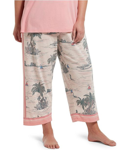 Hue Palm Shore Capri