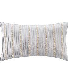 "Belline 11"" W X 20"" L Pintucked Pillow"