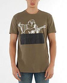 Men's Embossed Buddha T-Shirt