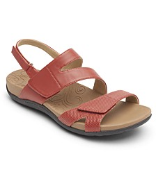 Women's Ridge Asym Stay Put Sandals