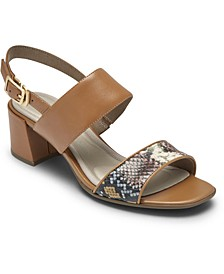 Women's Total Motion Alaina Double-Band Sandals