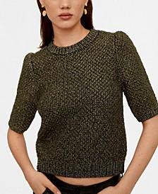 Metal Thread Sweater