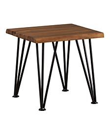 Zion Outdoor Industrial and Accent Table