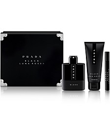 Men's 3-Pc. Luna Rossa Black Gift Set