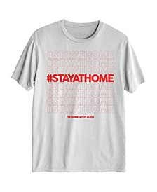 Stay At Home Men's Graphic T-Shirt