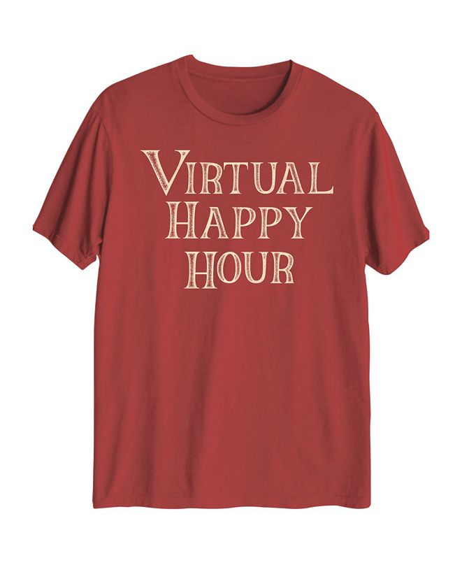 Hybrid Men's Virtual Happy Hour Graphic T-Shirt