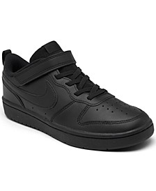 Little Kids Court Borough Low 2 Stay-Put Closure Casual Sneakers from Finish Line