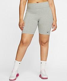 Plus Size Sportswear Leg-A-See Shorts