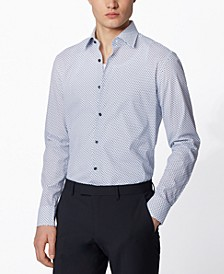 BOSS Men's Jango Open White Shirt