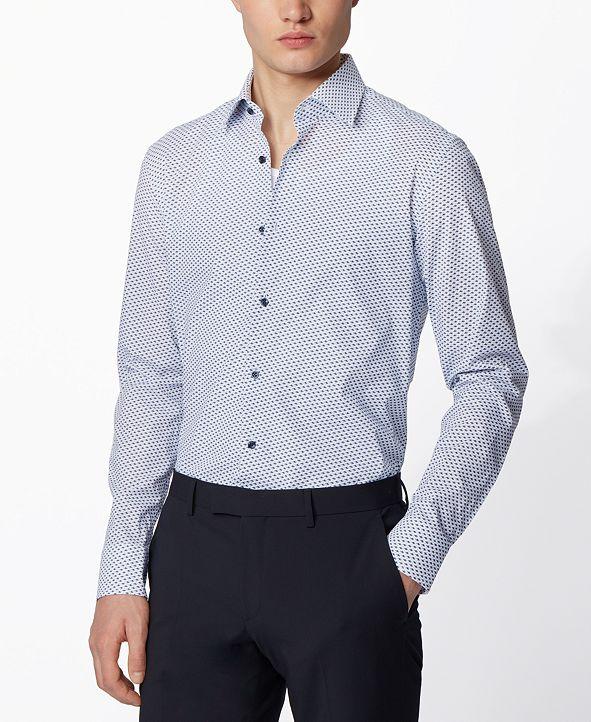 Hugo Boss BOSS Men's Jango Open White Shirt