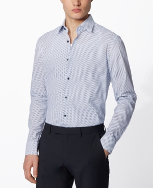 Boss Men's Jango Open White Shirt