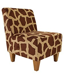 Amanda Armless Slipper Chair