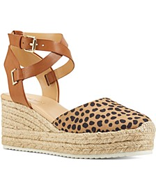 Ave Two-Piece Flatform Espadrilles
