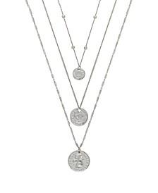 Lucky Coin Women's Necklace Set