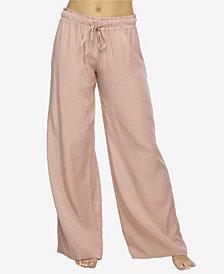 Felina Women's Izar Jacquard Lounge Pajama Pant