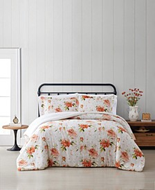 Veronica Full/Queen 3 Piece Comforter Set