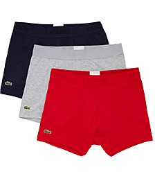 Men's 3-Pk. Essential Classic Cotton Trunks