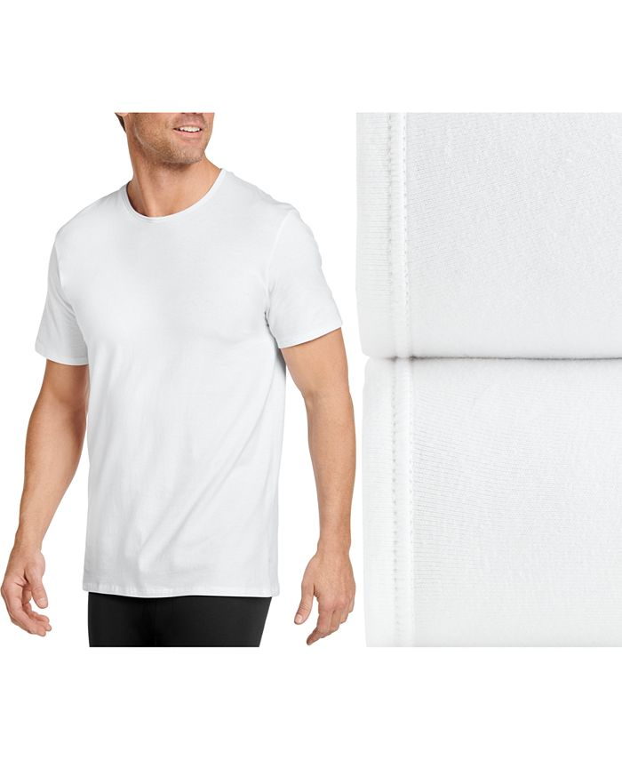 Jockey - Men's 2-Pk. Flex 365 Cotton T-Shirts