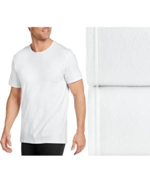 Men's Flex 365 Cotton Stretch Crew Neck T-Shirt 2 pack
