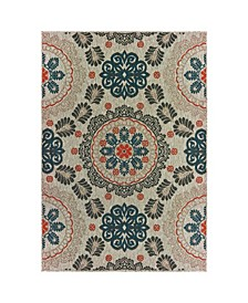 "Scope SCO04 Gray 9'10"" x 12'10"" Area Rug"