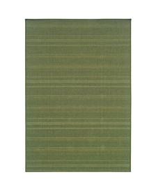 "Veranda VER05 Green 2'5"" x 4'5"" Area Rug"