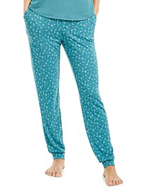 Ultra-Soft Knit Jogger Pajama Pants, Created for Macy's