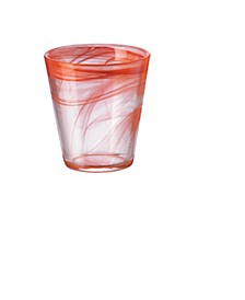 Capri Coral 12.5 oz. Set of 6 Glasses