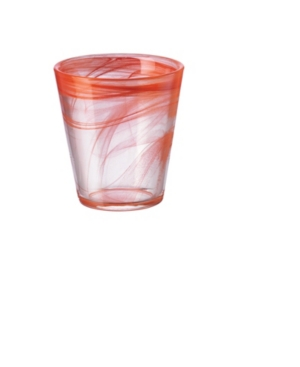 Bormioli Rocco Capri Coral 12.5 oz. Set of 6 Glasses