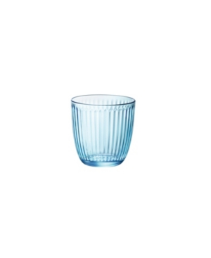 Bormioli Rocco Line Water Lively Blue 9.75 oz. Set of 6 Glasses