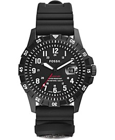 Men's FB-Adventure Black Silicone Strap Watch 42mm