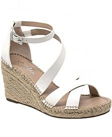 Noteworthy Espadrille Wedge Sandals