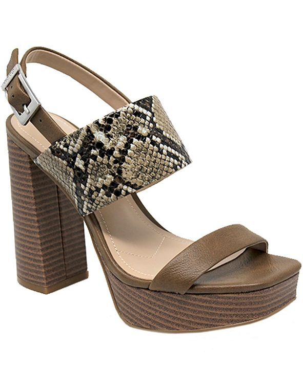 CHARLES by Charles David Idiom Platform Dress Sandals